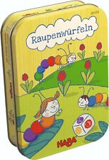 Raupenwürfeln Würfelspiel Kinderspiel Farbenspiel Dosenspiel HABA 301318