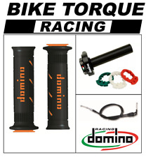 Z1000 SX  Domino XM2 Quick Action Throttle Kit Black Orange XM2 Grips