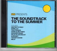 (GX674) The Soundtrack to the Summer, 15 tracks various artists - 2001 NME CD