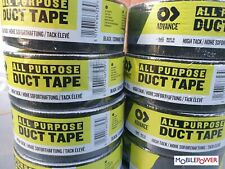 Advance brand Tough Quality Gaffa Duct Tape Black High Tack Contractor