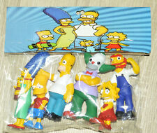 VERY RARE TOY MEXICAN FIGURES BOOTLEG SET THE SIMPSONS 3.5 INCHES