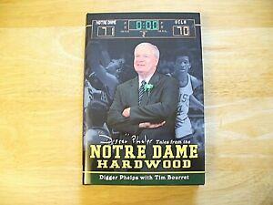 "Book -  ""Notre Dame Hardwood"" - Digger Phelps - 2004 - Hardcover - EX"