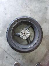 02-07 Honda CB900 F CB 900 919 Hornet rear back wheel rim wobble
