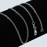 Wholesale 20 Pcs 925 Sterling Solid Silver Lots Snake Chain Necklace 16-30inch