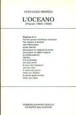 NESPOLI Gian Luigi, L'oceano (Poesie 1986-1988)