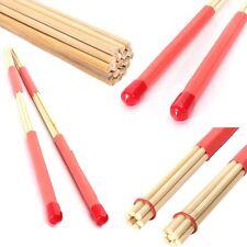 1 Pair Drum Brushes Jazz Drum-Sticks Percussion Balance Set Made Of Bamboo 40CM