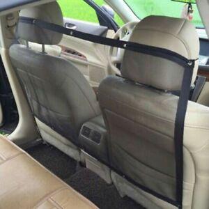 Pet Front Back Seat Barrier Dog Car Safety Guard Net Nylon Mesh Van Blanket Pets