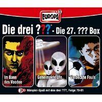 DIE DREI ??? - DIE 27. 3ER BOX (FOLGEN 79-81:IM BANN DES VOODOO/+) 3 CD NEU