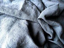 """Bettlaken Lacken Überwurf 100% Leinen """"Stonewashed"""" 140 x 220 cm Petrol"""