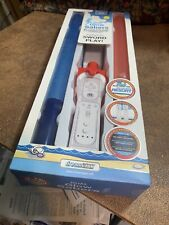Wii Remote Dual Glow Saber Attachments Light Up Red Blue Star Wars Sports Resort