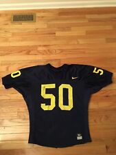 David Crispin Michigan Wolverines NCAA Vintage Authentic Nike Game Worn Jersey