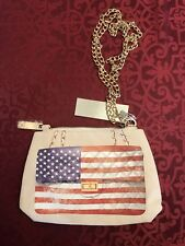 American Flag Purse - Gold Color Hardware - NWT - USA Seller - Fast Shipping