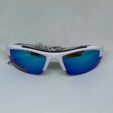 UNDER ARMOUR Recon Sunglasses Matte Clear//Blue Mirror NEW Sport//Cycle $100