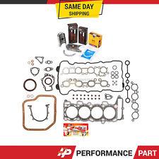 Full Gasket Set Bearings Rings for 94-99 Nissan 200SX Sentra Infiniti G20