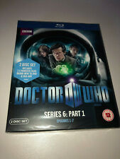 DOCTOR WHO SERIES 6: PART 1  BLU-RAY SET - NEW SEALED
