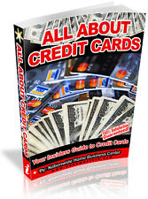 ALL ABOUT CREDIT CARDS  PDF EBOOK FREE SHIPPING RESALE RIGHTS