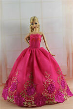 Fashion Princess Party Dress/Evening Clothes/Gown For Barbie Doll S319