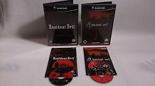 Resident Evil und Resident Evil 4 Nintendo GameCube 2002 DVD Box