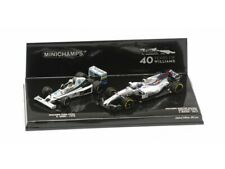 MINICHAMPS 1/43 SET WILLIAMS 40° ANNIVERSARIO FW06 JONES 1978 & FW40 MASSA 2017
