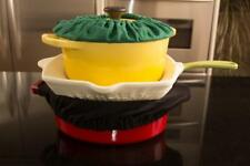 Pan Protectors for Le Creuset, Staub, & Chausser Pots, Pans & Lids,cookware sets