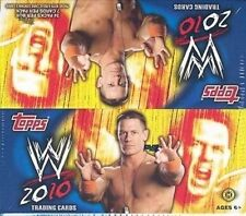 2010 Topps WWE Wrestling Factory Sealed Hobby Box - 1 Autograph, 1 Relic Per Box