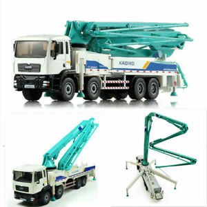 1:55 Alloy Diecast Concrete Pump Truck Toys Engineering Vehicle Model Kids Gifts