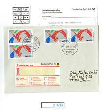 (E2429) Bund Nr.1409 MeF herrliche Mehrfachfrankatur