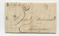 1789 Boston to Philadelphia stampless straightline 3dwt rate PA currency [45.128