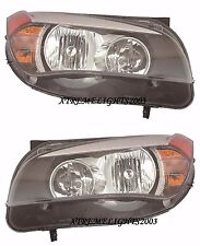 BMW X1 X-1 2013-2015  HALOGEN HEADLIGHTS HEAD LIGHTS FRONT LAMPS LEFT RIGHT PAIR