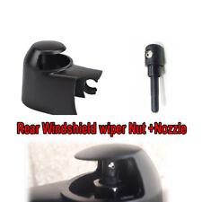 Rear Windscreen Wiper Arm Cap Nut Washer Cover Jet Nozzle Kit Fit For VW Skoda