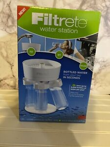 3M Filtrete Water Station WS01-WH Filtered Water Bottle Filling Station // NIB