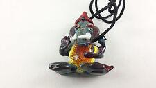 Ganesh - Glass Pendant Necklace - handmade boro