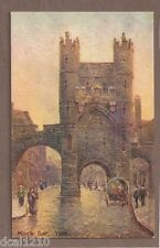 Vintage Postcard Unused Tuck'S Oilfacsim Monk Bar York