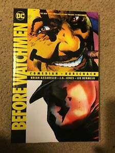 Before Watchmen: Rorschach and Comedian TPB by Brian Azzarello