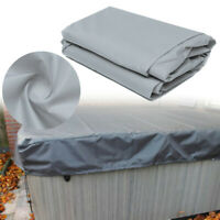 DeLuxe Hot Tub Spa Cover Guard Protector Cap Against Weather Prolongs Life