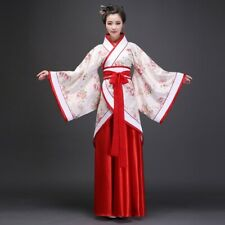 Women Chinese Tang Costume Hanfu Suit Cosplay infanta Floral Fairy Long Dress