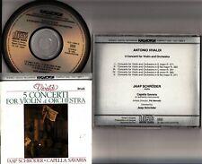 HCD 12684-2 JAPAN- Vivaldi 5 Violin Concertos - JAAP SCHRODER Capella Savaria CD