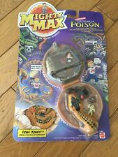 MIGHTY MAX - Doom Zones - The Palace Of Poison - Temple Of Venom - Neuf