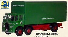 B-T Models, Leyland Steer Van - BRS Parcels Nottingham  Railway Gauge Truck 1:76