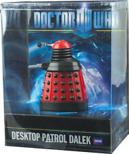 "DOCTOR WHO - Desktop Patrol 4"" Dalek ~ Red (Wow! Stuff) #NEW"