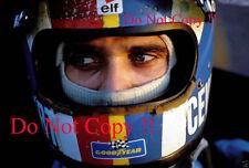 Francois Cevert Tyrell F1 Portrait Photograph 3