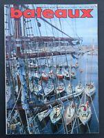Revue magazine BATEAUX n° 136 septembre Saint Vaast Grandcamp