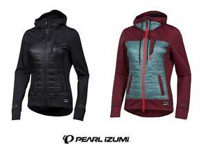 "Pearl Izumi Woman "" Vers Quilted Hoodie "" Sport-Freizeit Jacke UVP 229,95€  #88"