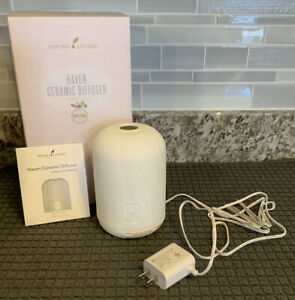 Young Living Haven Ceramic Diffuser, Original Box, Gently Used