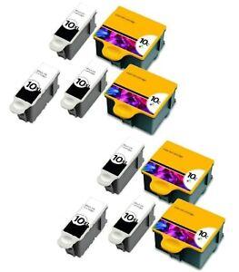 10-Pk/Pack For Kodak 10 XL Ink Cartridges ESP 3 5 7 9 3250 5210 5250 6150 9250