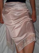 EDLER 40/50er VINTAGE Perlon/Nylon HALB-Unterkleid-Unterrock USA size18 *NEU(184