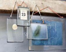 "Nkuku Kiko Photo Frame Zinc Double Sided GLASS Landscape 5x7"" 12x17cm"