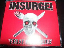 Insurge Feast Or Famine Rare Australian CD Single