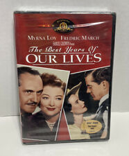 The Best Years of Our Lives (Dvd) Myrna Loy Fredric March Brand New