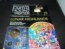 Eaglemoss Build A Model Earth Moon & Sun Orbiter Tellurium Orrery issue 15 / 67